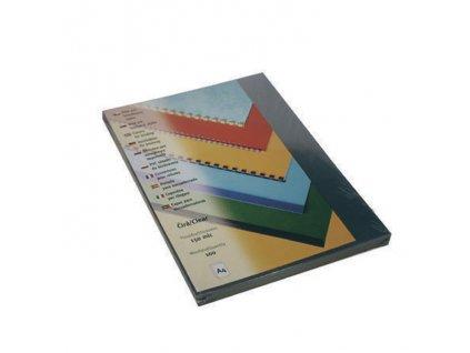 Desky pro kroužkovou vazbu přední strana - A4 / čirá / 100 ks