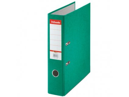 Pořadač A4 pákový kartonový Rainbow - hřbet 7,5 cm / zelená