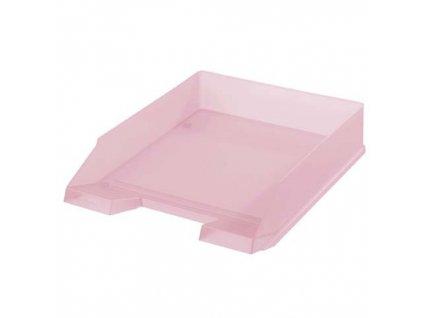Kancelářský box na spisy Heritz - rose / růžová