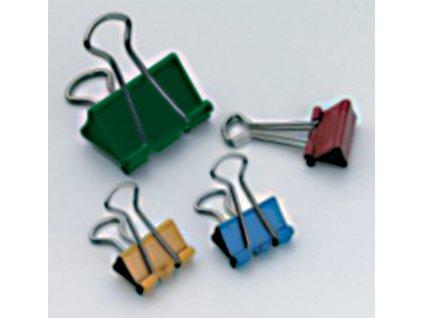 Klipy kovové barevné RON - 19 mm