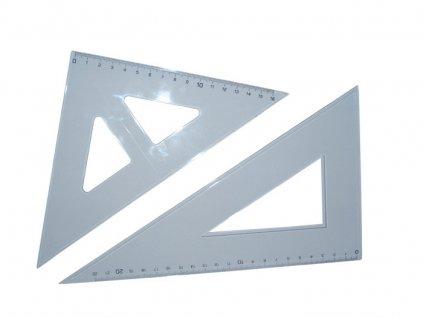 Trojúhelníky - trojúhelník s ryskou