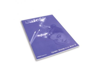 Skicáky - skicák A4 / 10 listů, jednobarevná obálka