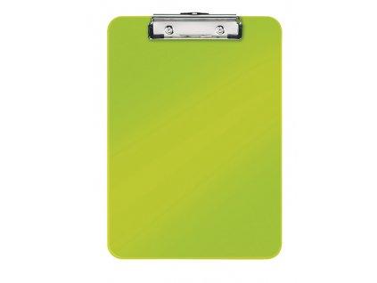 Podložka A4 s klipem Leitz WOW - zelená