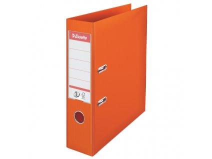 Pořadač A4 pákový celoplastový - hřbet 7,5 cm / oranžová