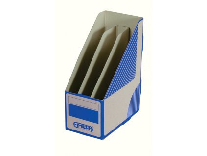 Stojan na spisy Emba TRIOBOX - modrá