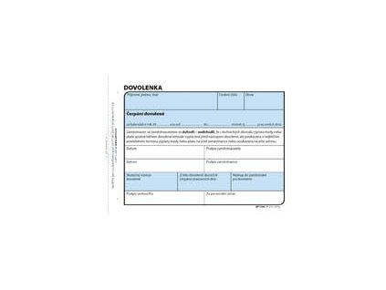 Dovolenka Optys - A6 / 100 lisů / 1146