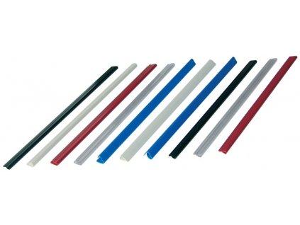 Rychlovazací nasouvací lišta Relido - kapacita 30 listů / čirá