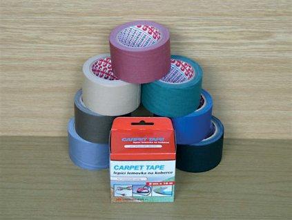 Lepicí pásky kobercové - 50 mm x 10 m / šedá