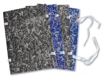 Spisové desky s tkanicí - formát A4 / bez hřbetu