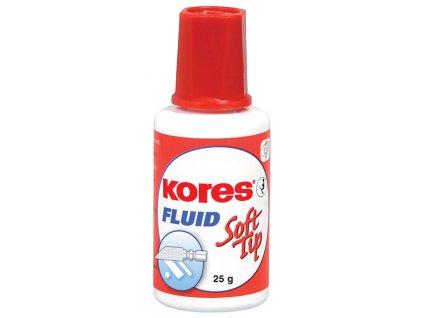 Opravné laky Kores Fluid - 25 g – (Soft - tip) houbička