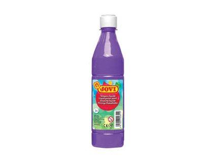 Tekuté temperové barvy JOVI v lahvi - 500 ml / fialová