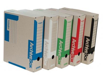 Box archivní A4 Emba - hřbet 7,5 cm / bílá