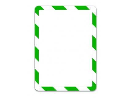Kapsy Tarifold Magneto bezpečnostní - A4 / zeleno-bílá / 2 ks / samolepicí