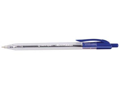Kuličkové pero Centropen Slide ball Clicker 2225 - modrá