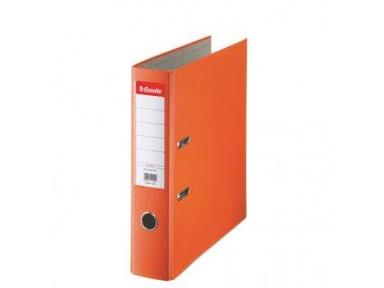 Pořadač A4 pákový polypropylen Economy - hřbet 7,5 cm / oranžová