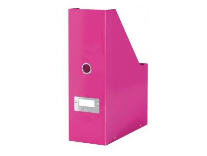 Zásuvkový box Leitz Click & Store - 3 zásuvky / růžová