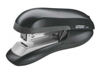 Kancelářský sešívač Rapid F30 s plochým sešíváním - černá
