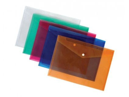 Spisové desky s drukem - A5 / modrá
