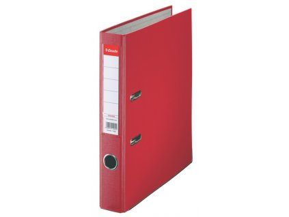 Pořadač A4 pákový polypropylen Economy - hřbet 5 cm / červená