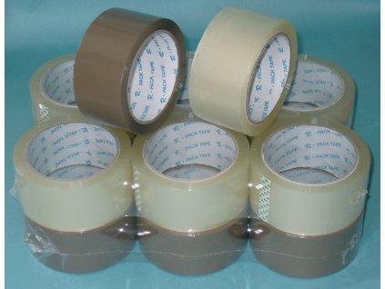 Balicí pásky NEHLUČNÉ - 48 mm x 66m / transparentní