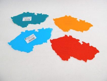 Šablona Česká republika - mix barev