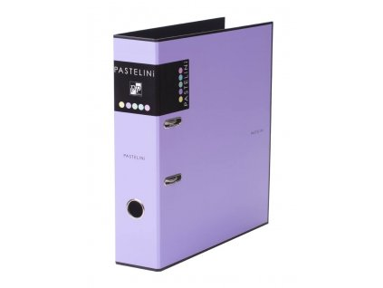 Pořadač A4 pákový PASTELINI - hřbet 7 cm / fialová