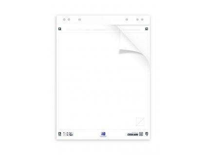 Samolepicí flipchart Oxford Smart Chart - bílá / 3 x 20 listů