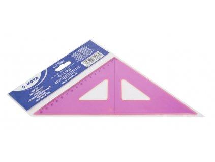 Trojúhelník NEON - trojúhelník s ryskou