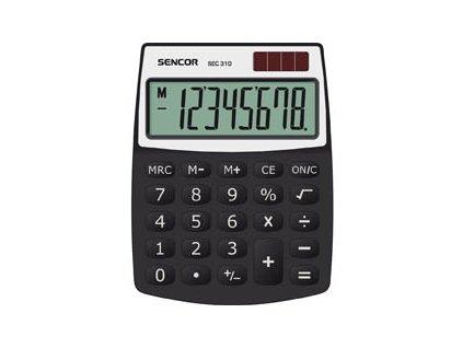 Kalkulačka Sencor SEC 310 - displej 8 míst