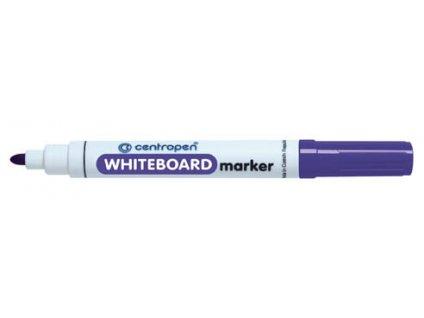 Značkovač Centropen 8559 stíratelný - fialová