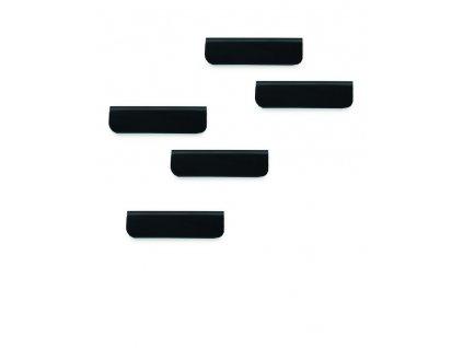 DURAFIX® klipy - 60 mm / černá / 5 ks