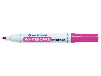 Značkovač Centropen 8559 stíratelný - růžová