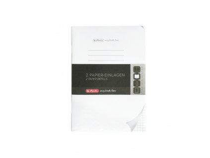 Sešit my.book flex - A5 / náhradní náplň / 2 x 40 listů / čtvereček