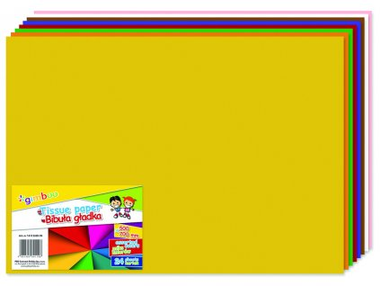 Papír hedvábný Donau - 24 listů / mix barev