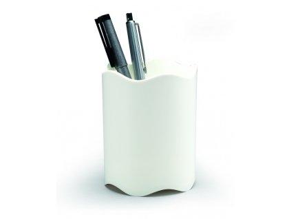 Stojánek na psací potřeby Durable Trend - bílá