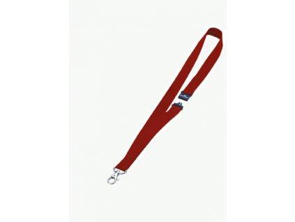 Textilní šňůrka Durable - červená