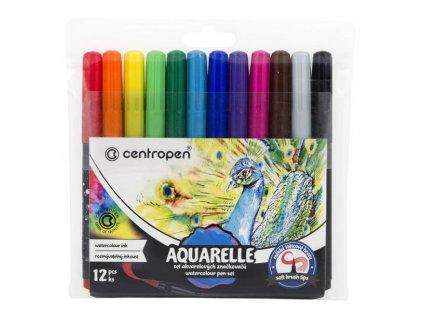 Značkovače Centropen 8683 Aquarelle – sada 12 ks