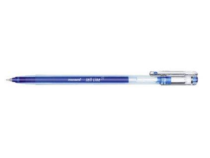 Gelové pero Monami Jell Line - modrá