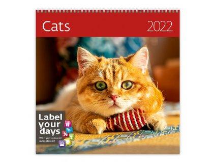 Kalendář kočky LP01