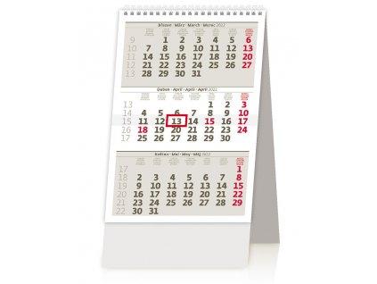 Tříměsíční kalendář malý 2022