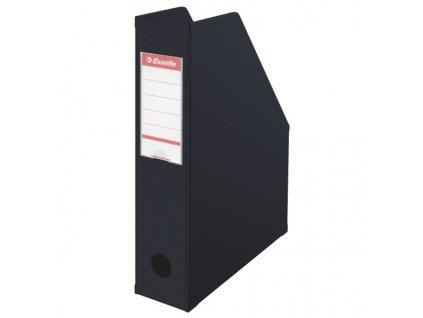 Stojan na spisy Economy - černá / hřbet 70 mm
