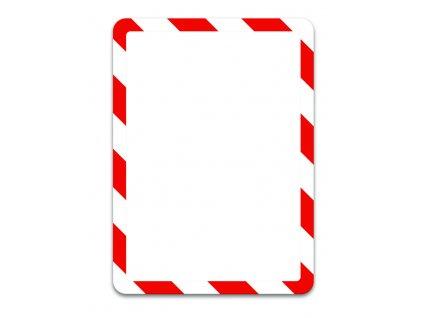 Kapsy Tarifold Magneto bezpečnostní - A4 / červeno-bílá / 2 ks / magnetické