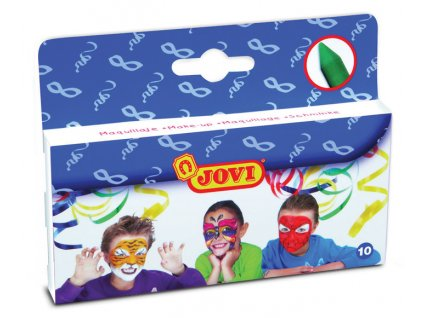 Obličejové barvy JOVI - 10 ks x 3,6 g