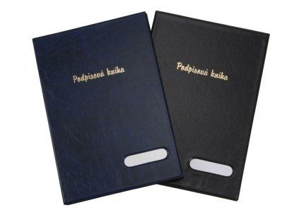 Kniha podpisová Hanibal - černá