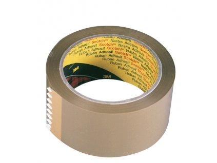 Balicí pásky Scotch - 48 mm x 66 m / hnědá