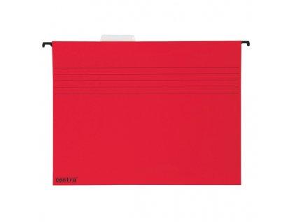 Závěsné desky Centra - červená