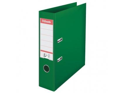 Pořadač A4 pákový celoplastový - hřbet 7,5 cm / zelená