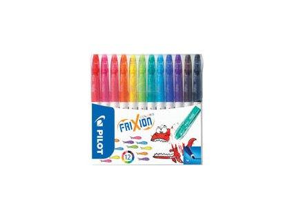 Popisovače Frixion Colours - sada 12 barev