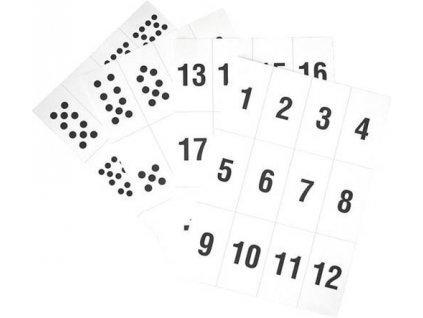 Písmena a číslice - sada číslic