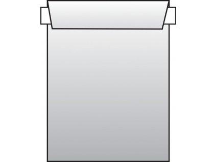 Obchodní tašky C4 samolepicí s krycí páskou - 250 ks